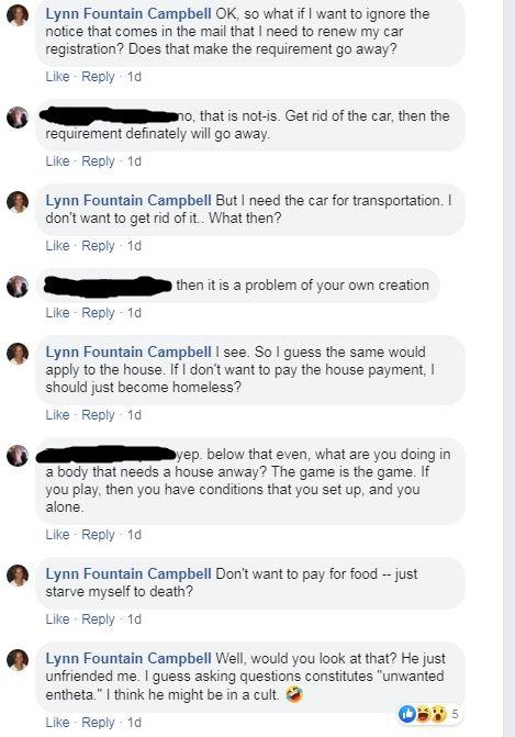 scientology cult person A